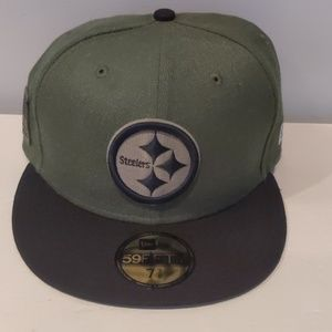 Steelers salute to service hat